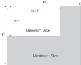 Postcard Print Sizes Chart