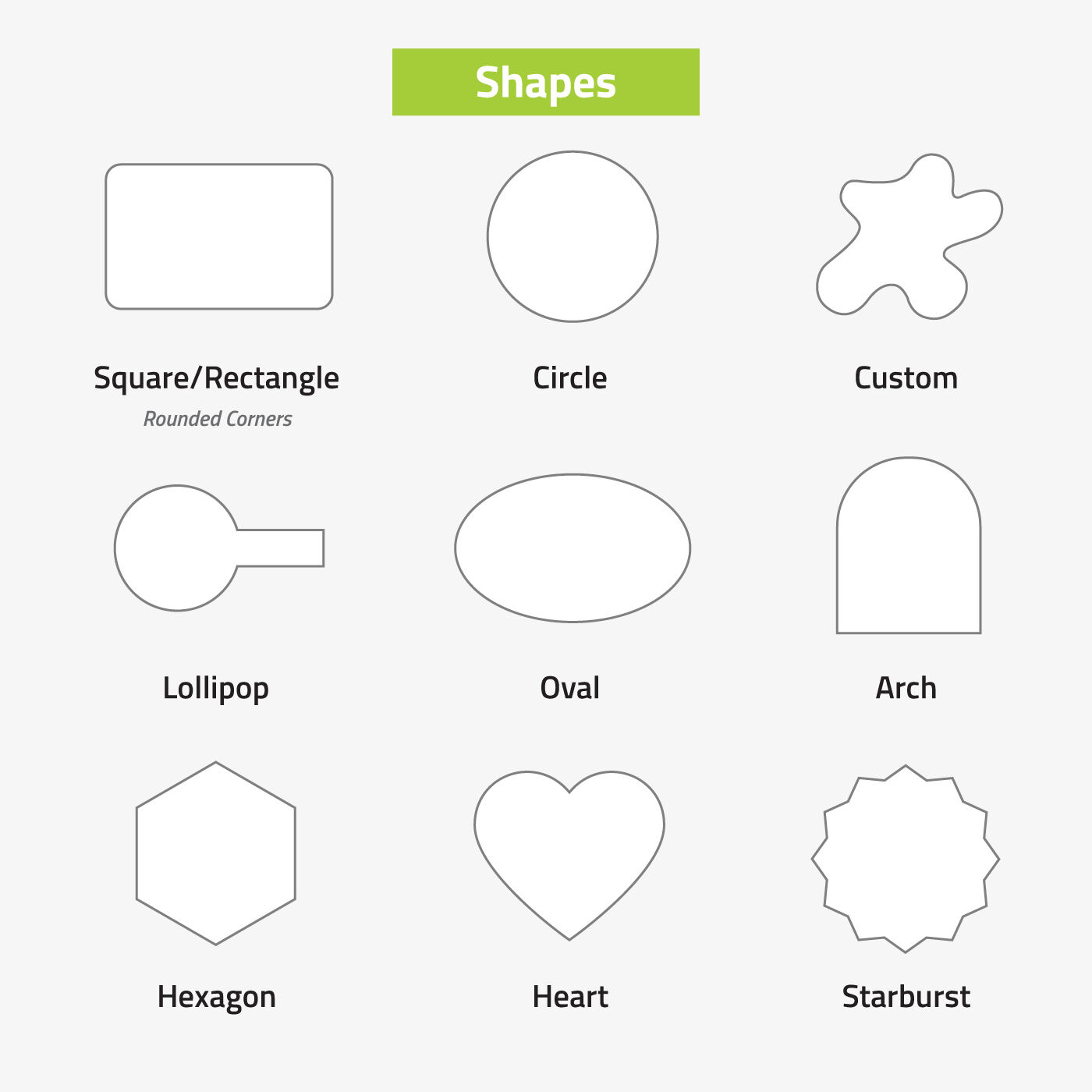 Roll Shapes