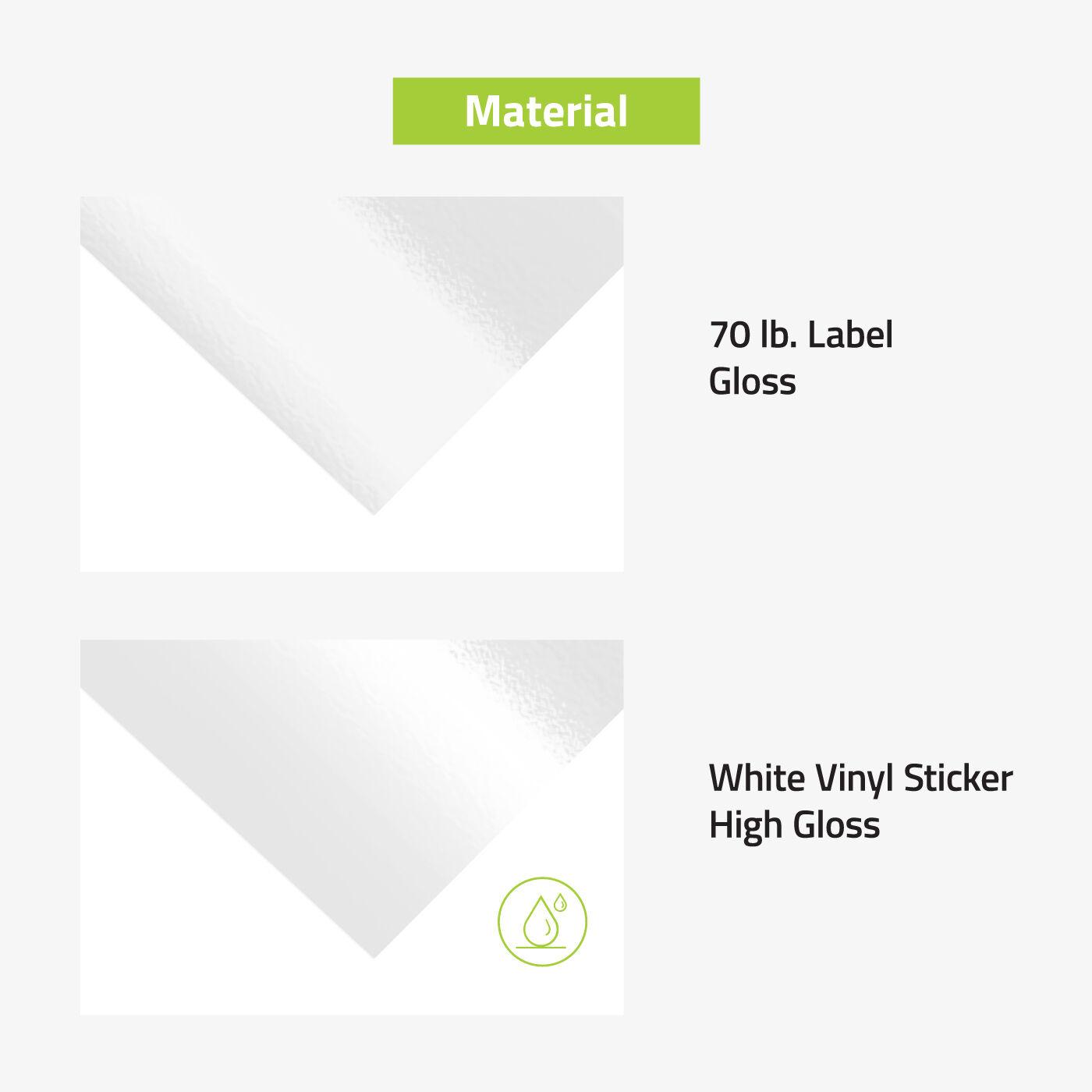 Sheet Labels Material