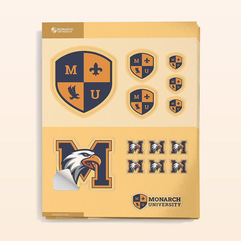 Kiss-cut Sticker Sheets
