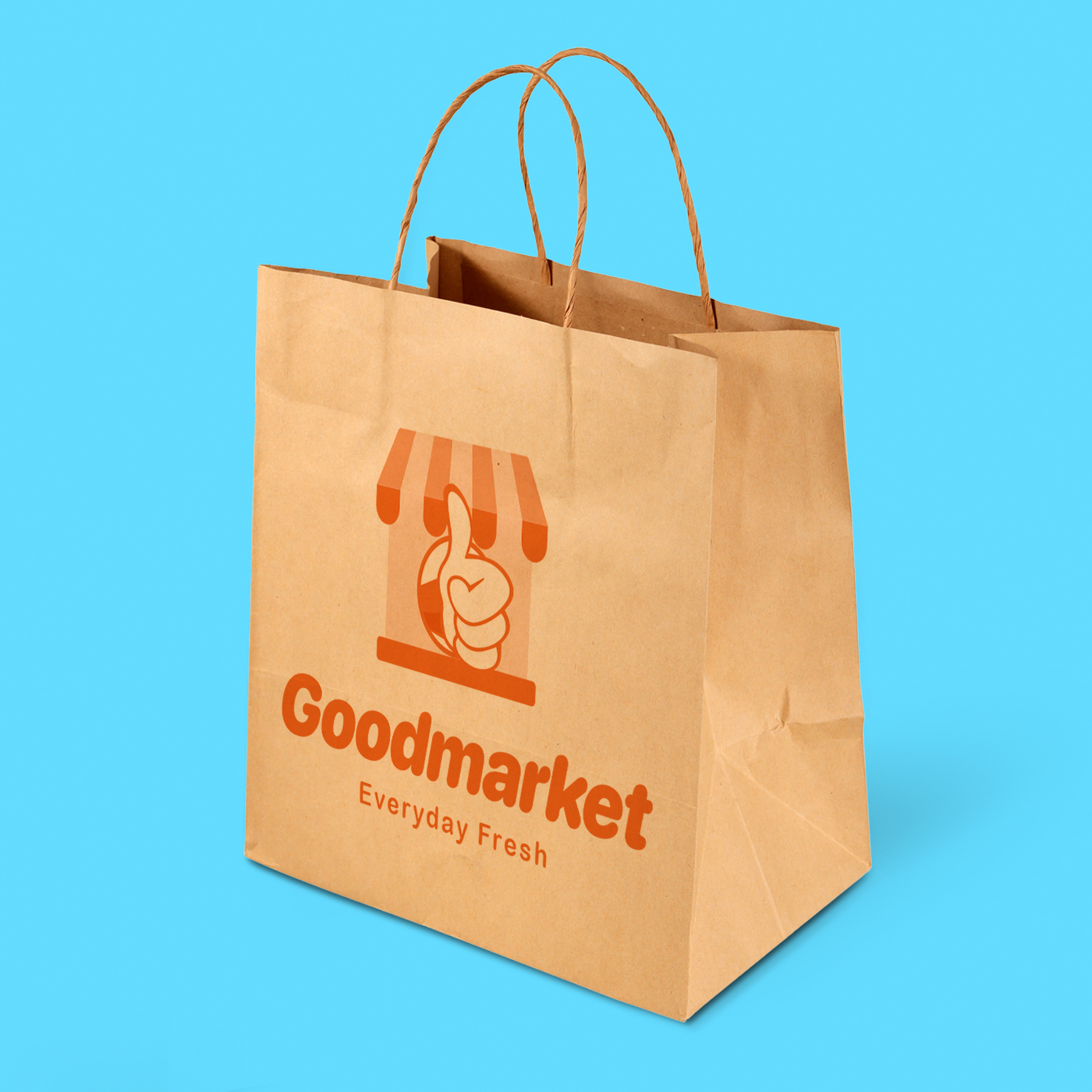 Recycled Kraft Paper Bags height=