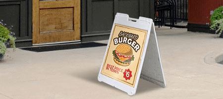 Plastic Sandwich Boards
