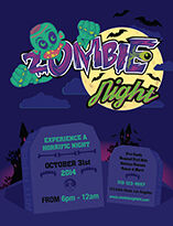 Halloween Flyer Template (AI)