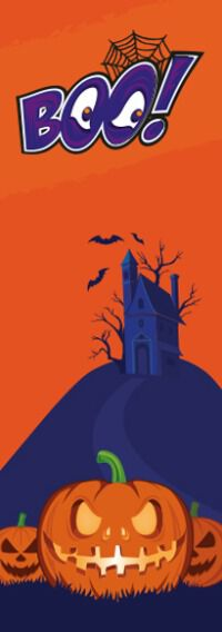 Halloween Bookmark Design (INDD)