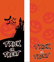 Halloween Door Hanger Template (AI)
