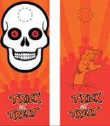 Halloween Door Hanger Template (INDD)