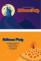 Halloween Invitation Template (INDD)