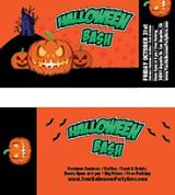 Halloween Ticket Template (INDD)