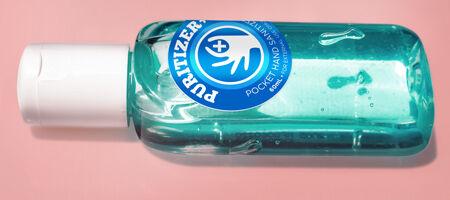 Hand Sanitizer Stickers