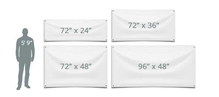 Vinyl Banner Size Options