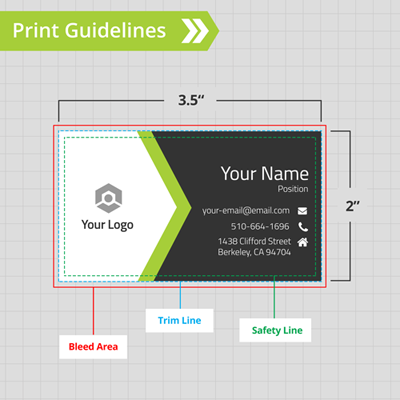 Business Cards Print Guidelines