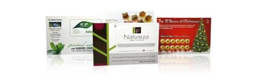 Perforated Mailers Stand Out Pop Out Shapes And Business Cards