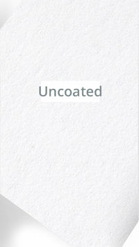 Uncoated