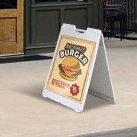 Plastic Sandwich Board